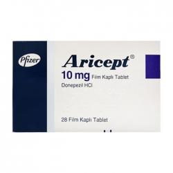 Aricept 10mg Pfizer 2 vỉ x 14 viên