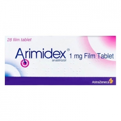 Arimidex 1mg AstraZeneca,  Hộp 28 Viên