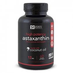 Viên uống ngừa ung thư High Potency Astaxanthin with Organic Coconut Oil