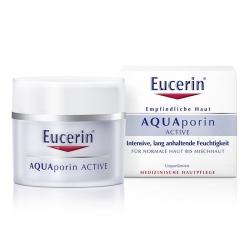Kem dưỡng ẩm cho da thường, hỗn hợp mất nước Eucerin Aquaporin Active 50ml