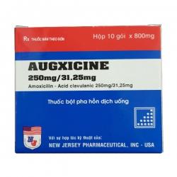 Thuốc kháng sinh  Augxicine 250mg, Hộp 10 gói
