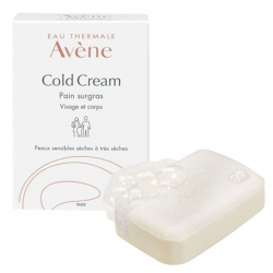 Xà phòng tắm dành cho da khô Avene Cold Cream Ultra-Rich Cleansing Bar 100g