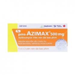 Thuốc kháng sinh Imexpharm Azimax 500mg, Hộp 3 viên