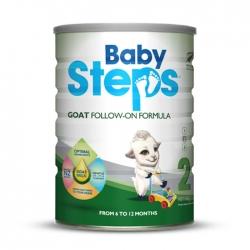 Babysteps Goat Follow On Formula dành cho bé từ 6-12 tháng tuổi