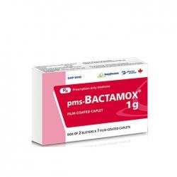Thuốc kháng sinh Imexpharm Bactamox 1gr, Hộp 14 viên