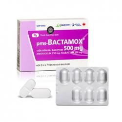 Thuốc kháng sinh Imexpharm Bactamox 500mg, Hộp 14 viên