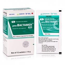 Thuốc kháng sinh Imexpharm Bactamox 625mg, Hộp 12 gói