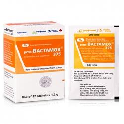 Thuốc kháng sinh Imexpharm Bactamox 375mg, Hộp 12 gói