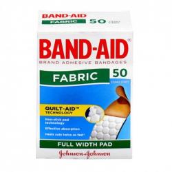 Băng cá nhân Band-Aid Fabric, Hộp 50 miếng