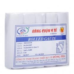 Băng cuộn y tế Đông Fa, Bịch 50 cuốn ( 1m8 x 0,085cm )