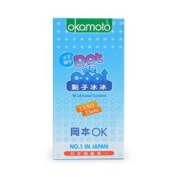 Bao Cao Su Okamoto Dot Cool, Hộp 10 Cái