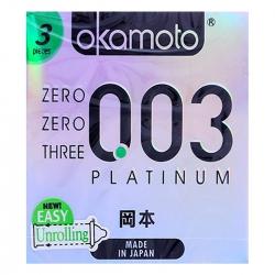 Bao Cao Su Okamoto Platinum, 3 Cái