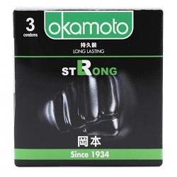 Bao Cao Su Okamoto Strong, Hộp 3 Cái