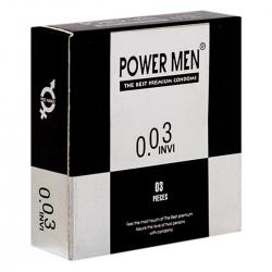 Bao cao su Powermen INVI 0.03 - 3 Cái