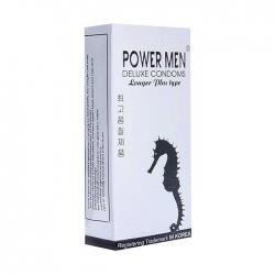 Bao cao su Powermen trị xuất tinh sớm Cá Ngựa vỏ xám Hộp 12 cái