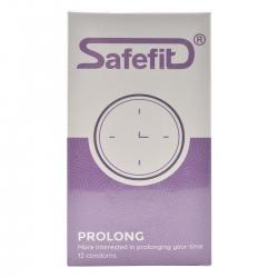Bao Cao Su SafeFit ProLong - Hộp 12 Cái