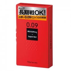 Bao Cao Su Sagami 0.09 Superdot, Hộp 10 cái