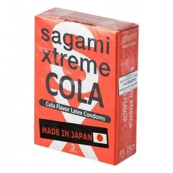 Bao Cao Su Sagami Extreme Cola, Hộp 3 cái