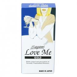 Bao Cao Su Sagami Love Me Gold, Hộp 10 cái