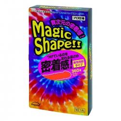 Bao Cao Su Sagami Magic Shape, 10 Cái