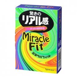 Bao Cao Su Sagami Miracle Fit, Hộp 05 Cái