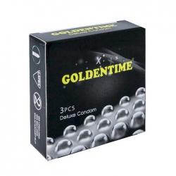 Bao cao su siêu gai Goldentime Hộp 3 cái