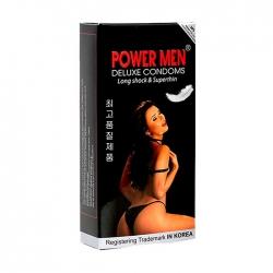 Bao cao su siêu mỏng, kéo dài PowerMen cô gái Hộp 12 cái