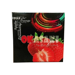 Bao cao su vị dâu Okasaki (3 cái)