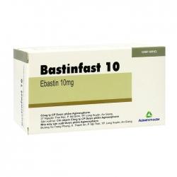 Bastinfast 10 Agimexpharm 10 vỉ x 10 viên