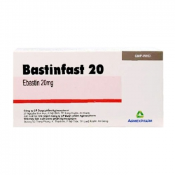 Bastinfast 20 Agimexpharm 10 vỉ x 10 viên