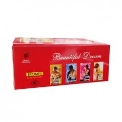 Bao cao su Beautiful Dream HK, Hộp 96 cái ( 12H x 8 bao )