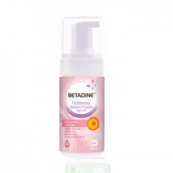Dung dịch vệ sinh phụ nữ Betadine Feminine Wash Foam Moisturizing Calendula 100ml