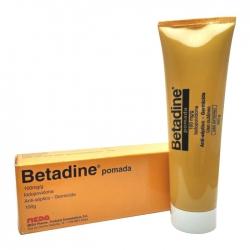 Thuốc mỡ sát khuẩn Betadine ointment 10% tuýt 100g