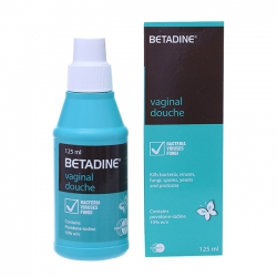 Dung dịch vệ sinh phụ nữ Betadine Vaginal Douche 125 ml