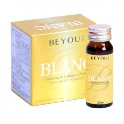 Tpbvsk nước Placenta và Collagen Nhật bản Beyou Blanc, Hộp 6 chai