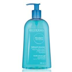 Gel tắm hàng ngày dành cho da khô và da nhạy cảm Bioderma Atoderm Gel Douche / Shower gel 500ml