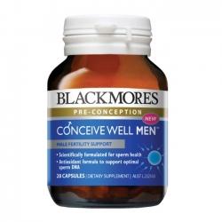 Blackmores Conceive Well Men  giúp tăng khả năng sinh sản cho nam giới