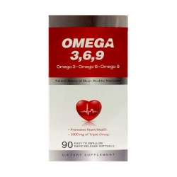 Bổ sung omega 369 Earth's Creation Omega 369, Chai 90 viên