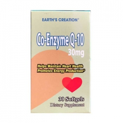 Bổ tim mạch Earth's Creation Co Enzyme Q10 30mg