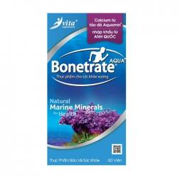 Canxi từ tảo đỏ Aquamin Bonetrate Aqua+ 60 viên