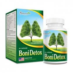 Boni Detox giúp giải độc, Hộp 30 viên