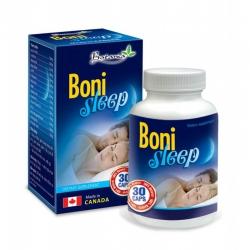Thực phẩm bảo vệ sức khỏe Botania Boni Sleep, Hộp 30 viên