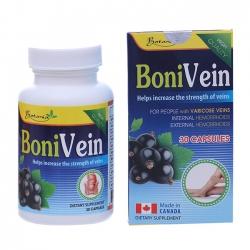 Thực phẩm bảo vệ sức khỏe Botania BoniVein, Hộp 30 Viên