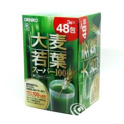 Bột Lúa Non Orihiro Của Nhật Bản   Hộp 48 gói x 3g