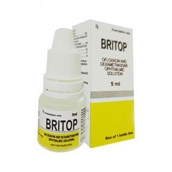 Thuốc nhỏ mắt VNP Britop, Lọ 5ml
