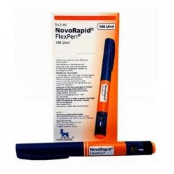Bút tiêm Novo Nordisk Novo Rapid Flex Pen 100U/ml