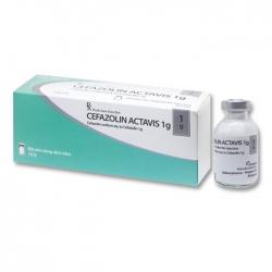 Thuốc Cefazolin Actavis 1g, Hộp 10 lọ