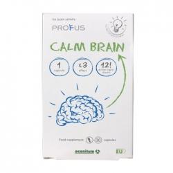 Calm Brain giúp tăng cường lưu thông máu, dưỡng não, giảm căng thẳng mệt mỏi, Hộp 30 viên
