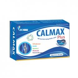 Tpbvsk loãng xương Isopharco Calmax Plus, Hộp 60 viên