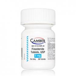 Camber Finasteride Tablets USP 5mg, Chai 30 viên
